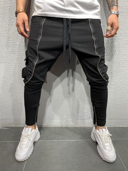 Melegítő nadrág Night - fekete
