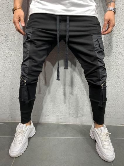 Melegítő nadrág Conga - fekete