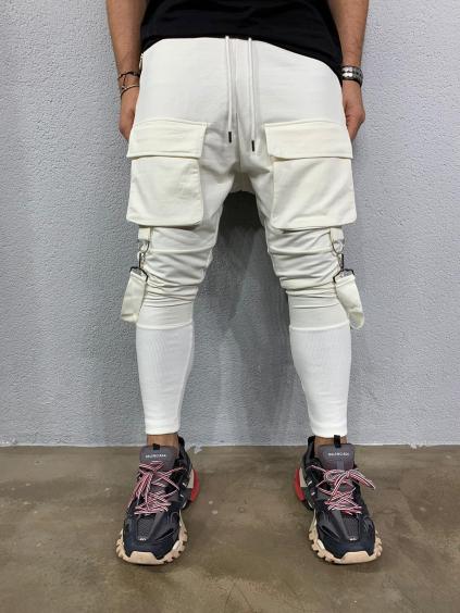 Melegítő nadrág Cash - fehér