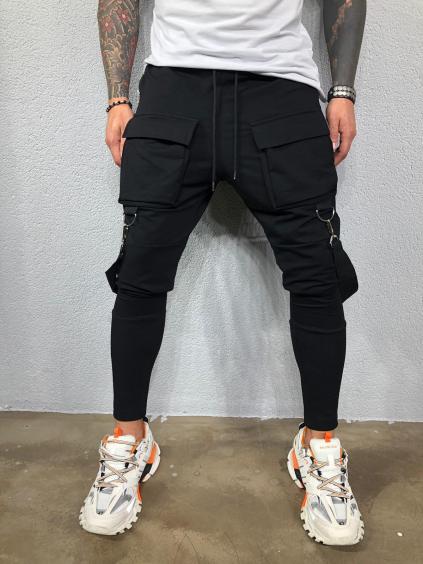 Melegítő nadrág Cash - fekete