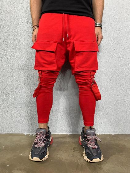 Melegítő nadrág Cash - piros