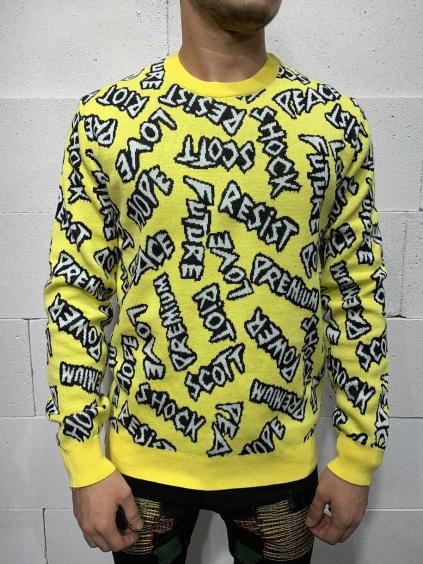 Pulóver Scott - sárga