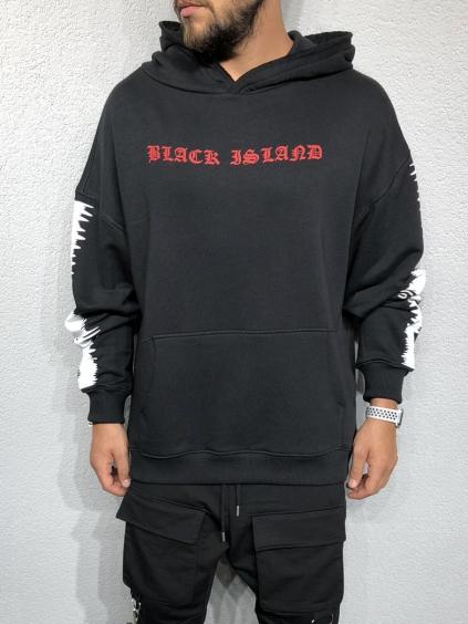 Melegítő felső Resolve - fekete