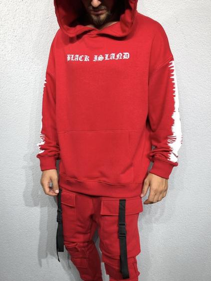 Melegítő felső Resolve - piros