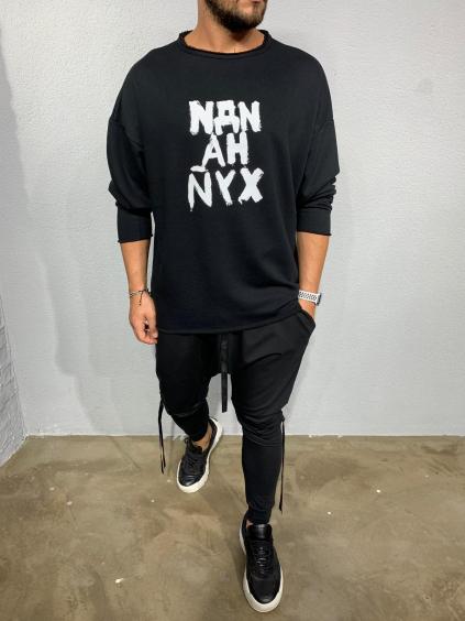 Melegítő felső NYX - Fekete