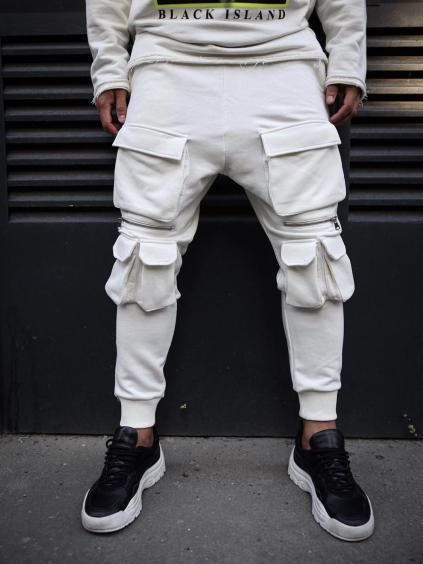 Melegítő nadrág Madness - fehér