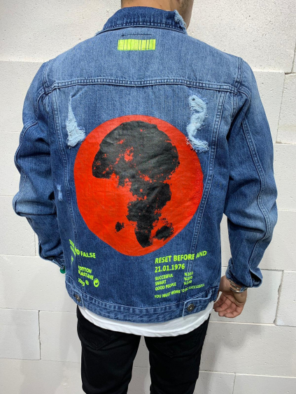 Farmer kabát Before - Kék