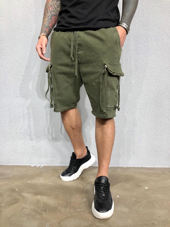 Pantaloni scurți Mesic - khaki