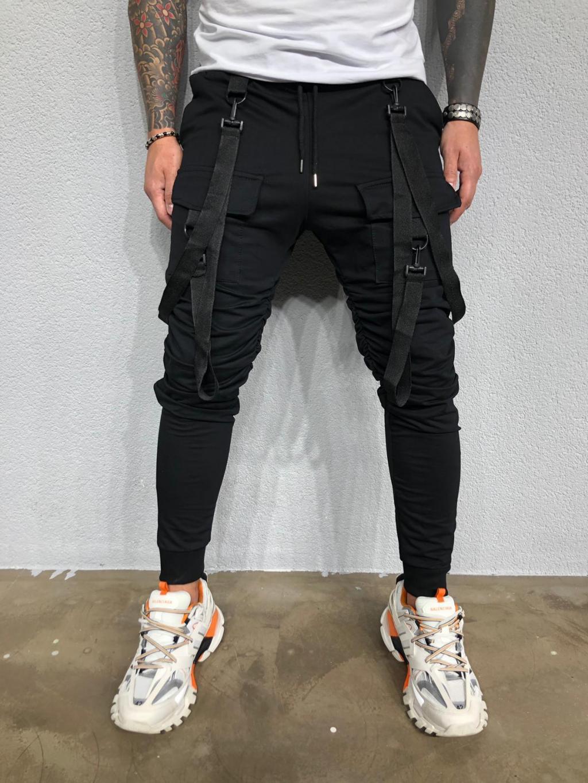 Pantaloni de trening Hall - negri