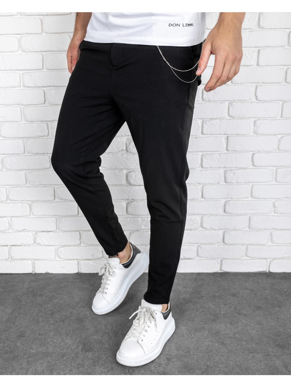 Pantaloni Glass - negri