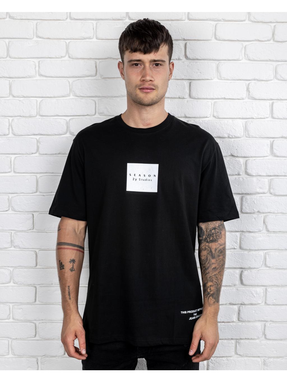 Tricou Season - negru