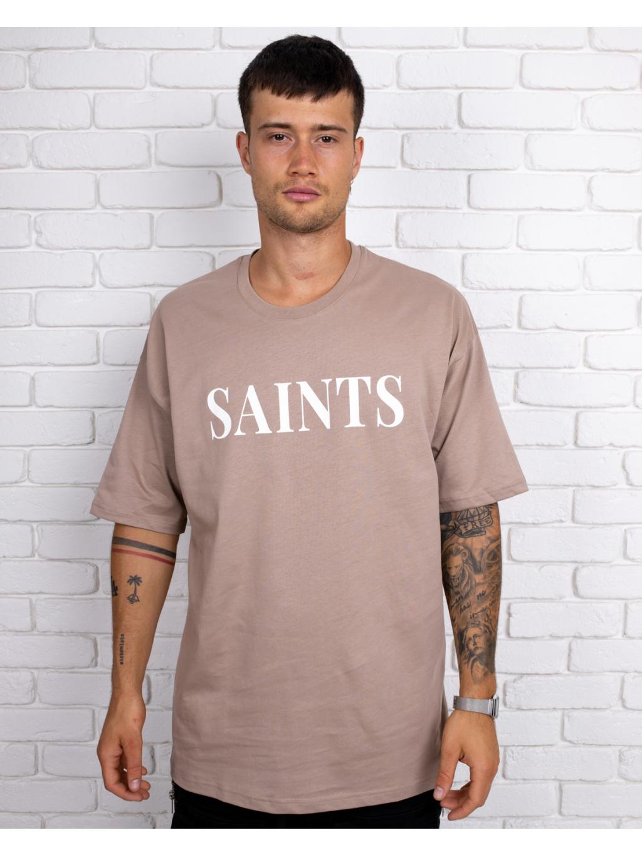 Tricou Saintly - maro