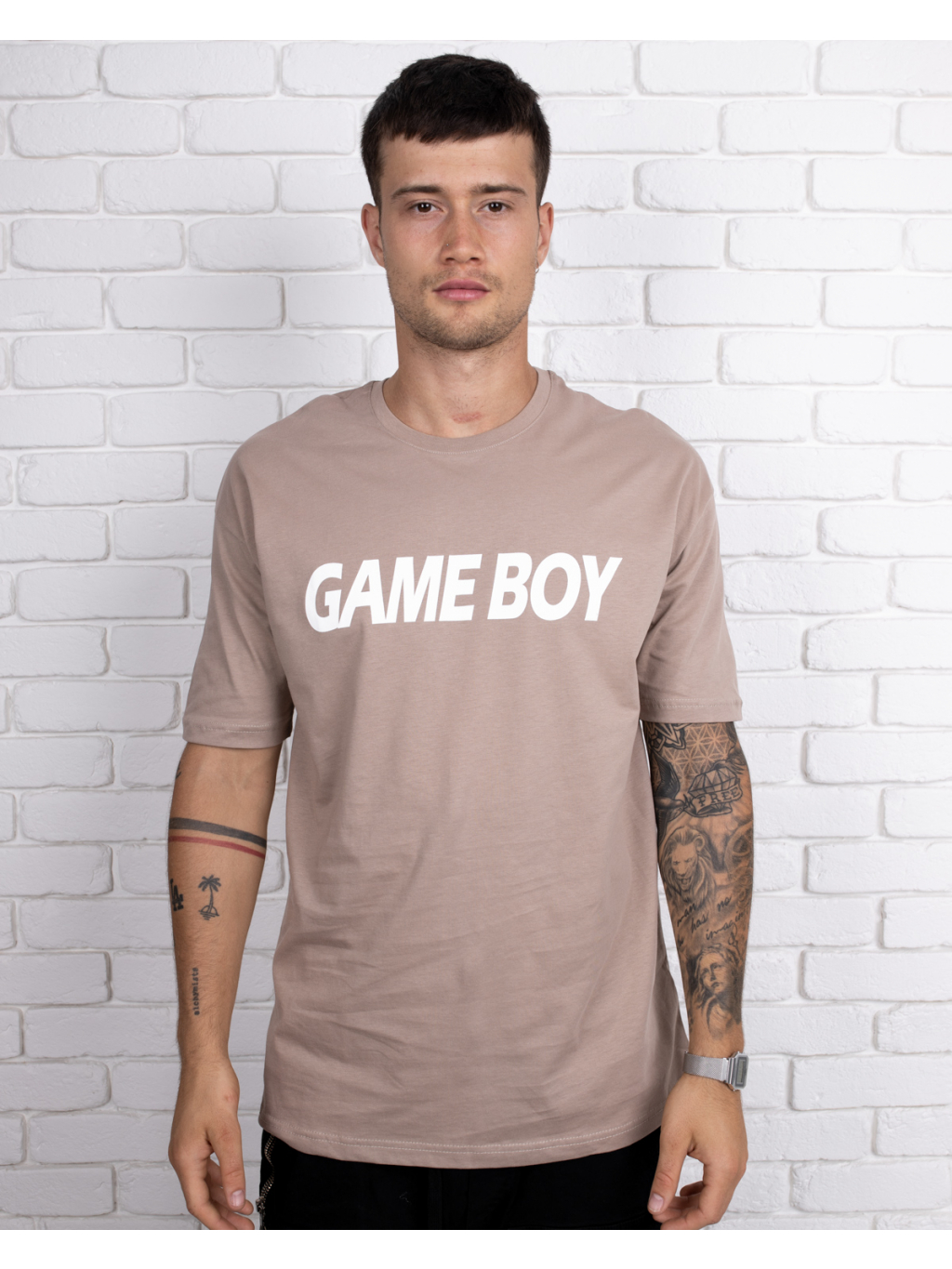 Tricou Gameboy - maro