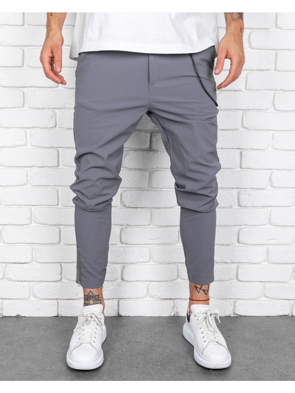 Pantaloni Cheese - gri
