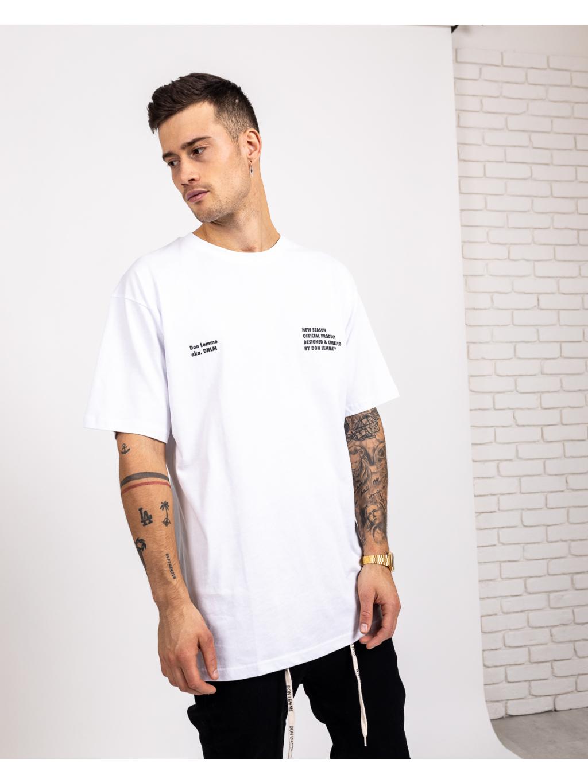 Tricou Oversized New Season - alb
