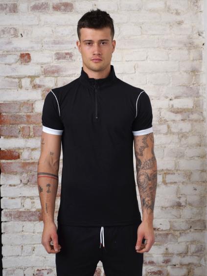 Tricou Step - negru