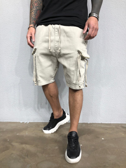 Pantaloni scurți Mesic - bej