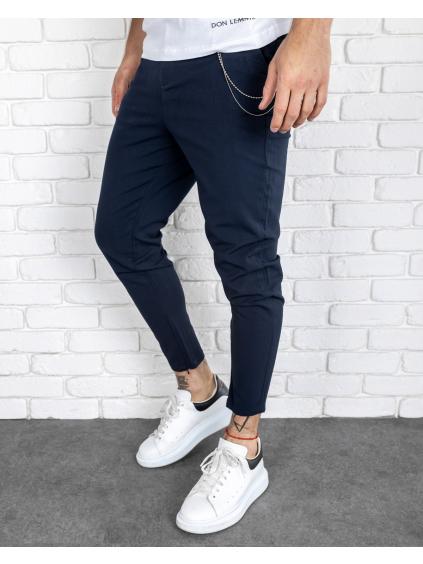 Pantaloni Glass - albaștri