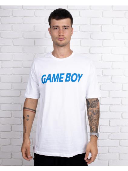 Tricou Gameboy - alb