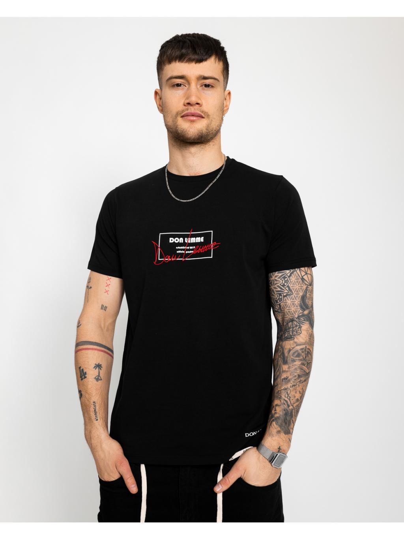 Tričko Carpet - čirne