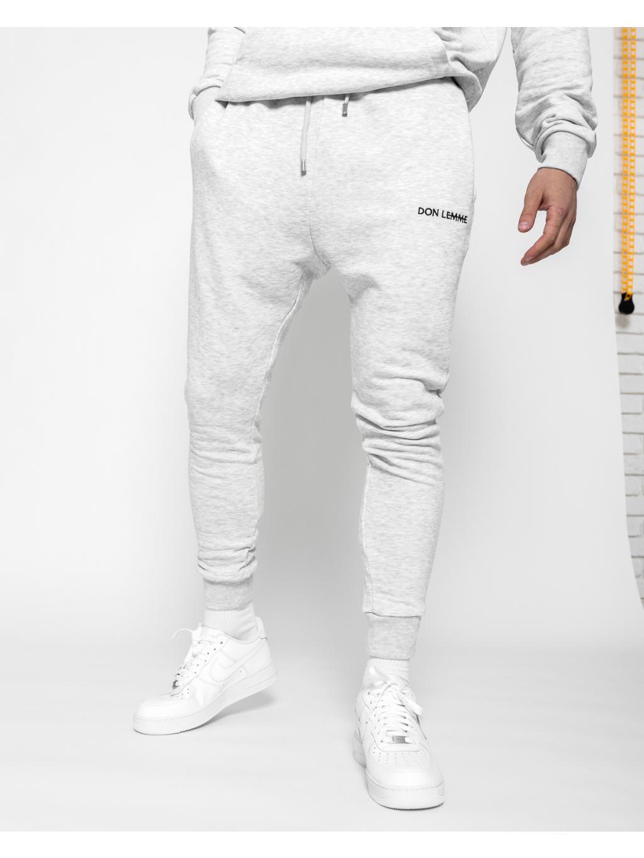 Tepláky Joggers - šedé (Veľkosť XL)