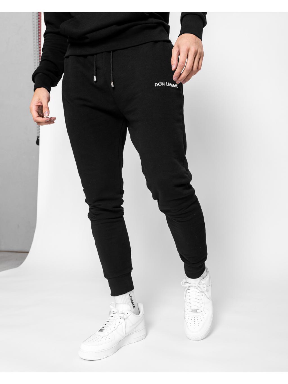 Tepláky Joggers - čierne (Veľkosť XL)