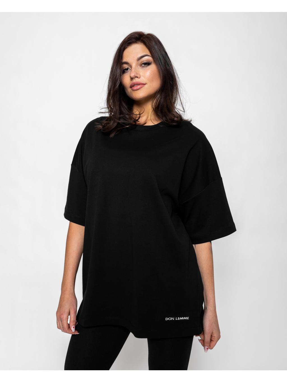 Unisex Tričko Tened - čierne (Veľkosť XL)