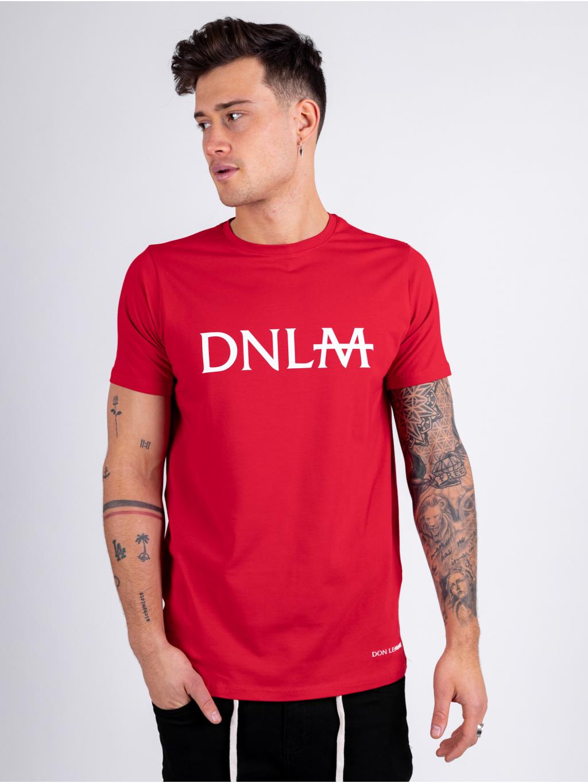 Tričko Monogram - červené