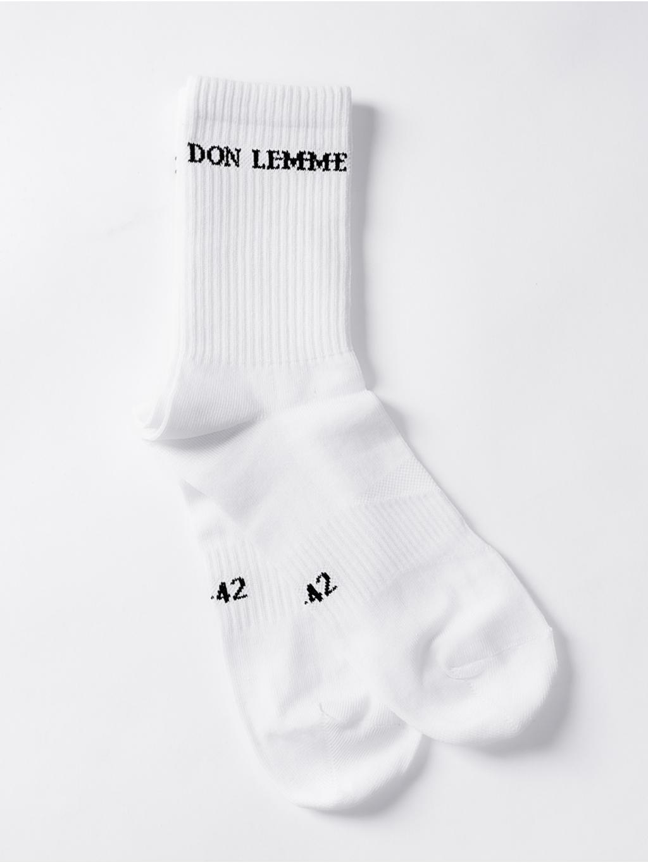 Ponožky Horizontal - biele