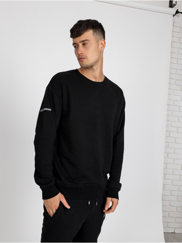 Mikina Regular - Čierna