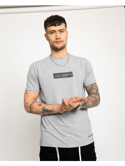 Tričko Content - sivé