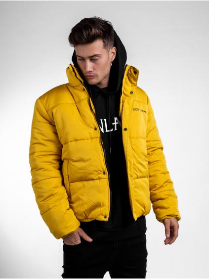 Zimná bunda Panel - žltá