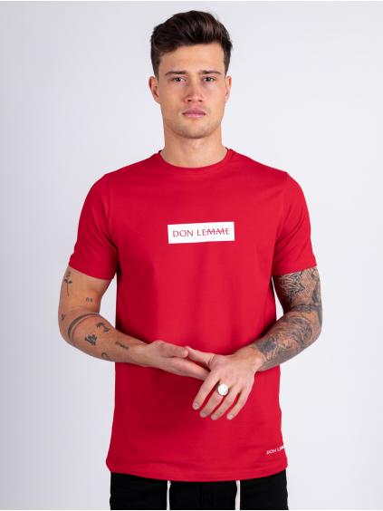 Tričko Content - červené