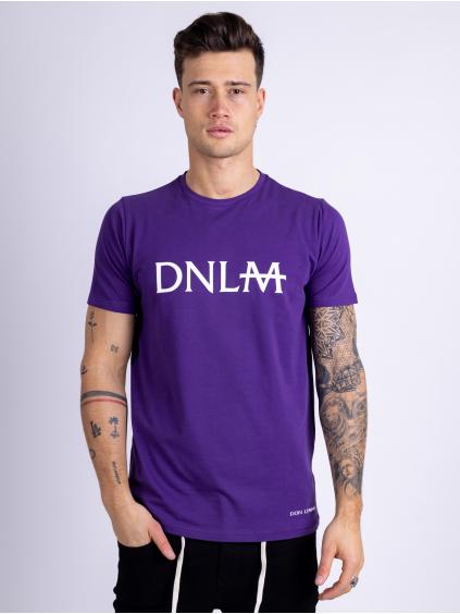Tričko Monogram - fialové