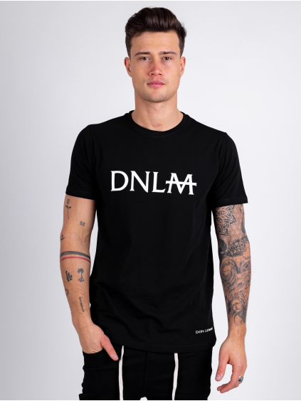 Tričko Monogram - čierné