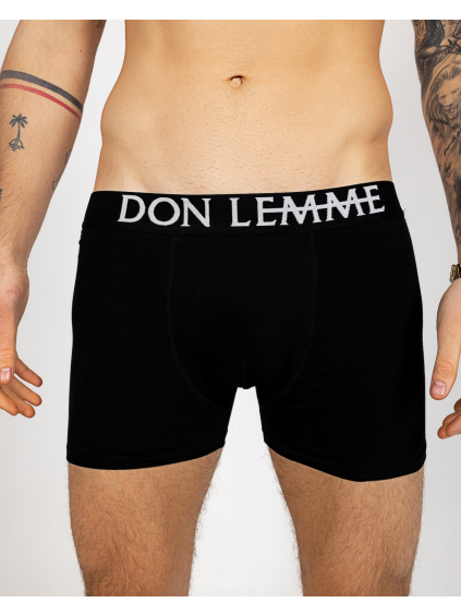Duopack boxerky - čierne