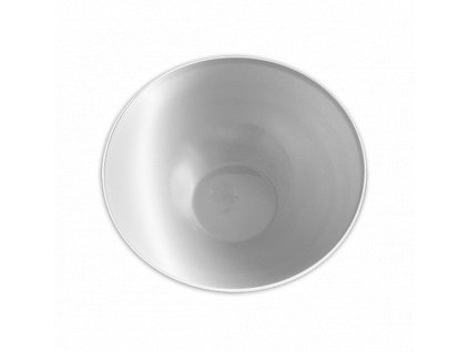 vratná plastová miska bílá