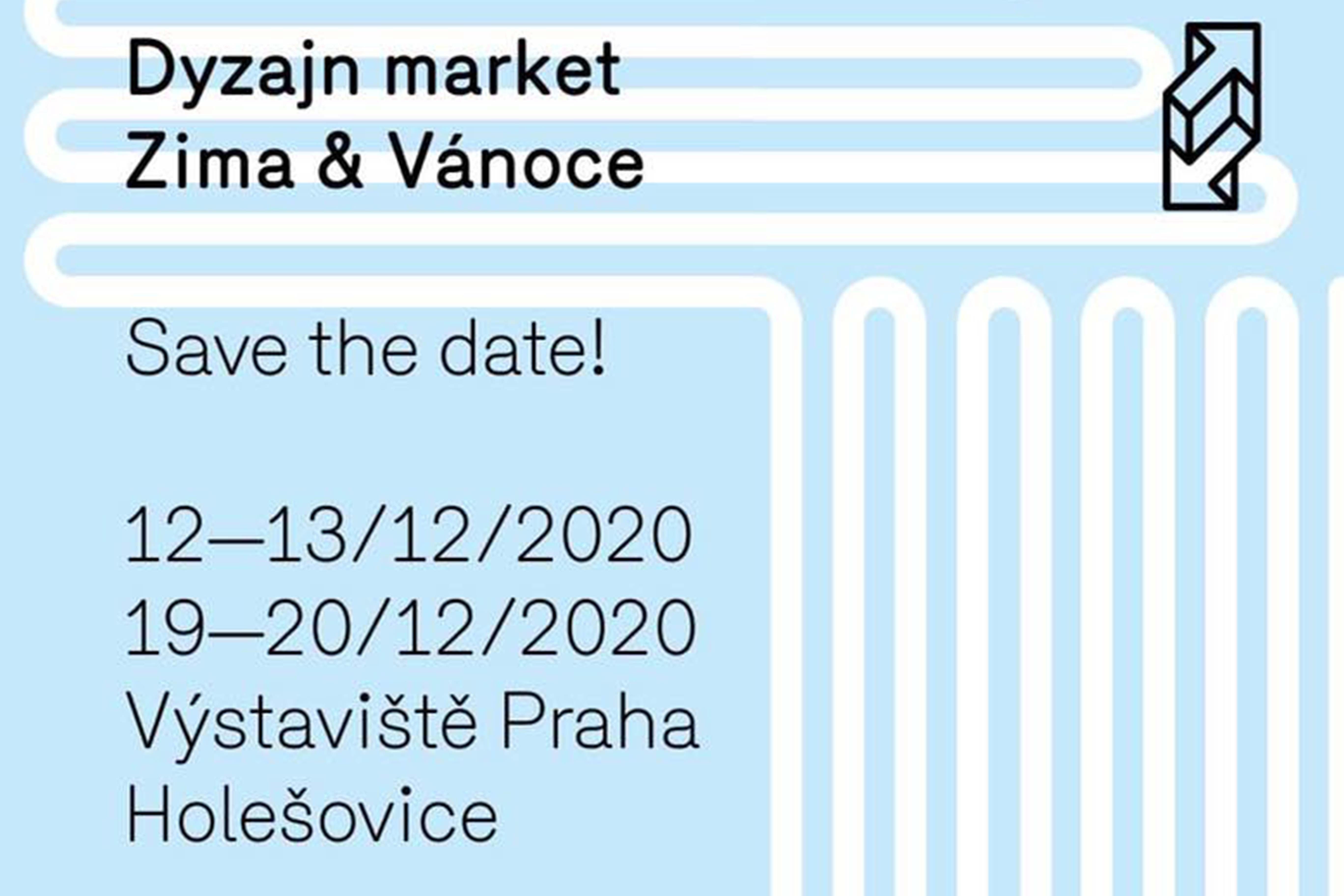 Dyzajn market Zima a Vánoce