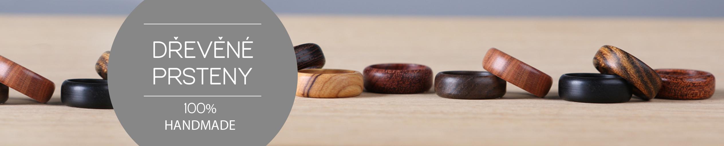 Dřevěné prsteny