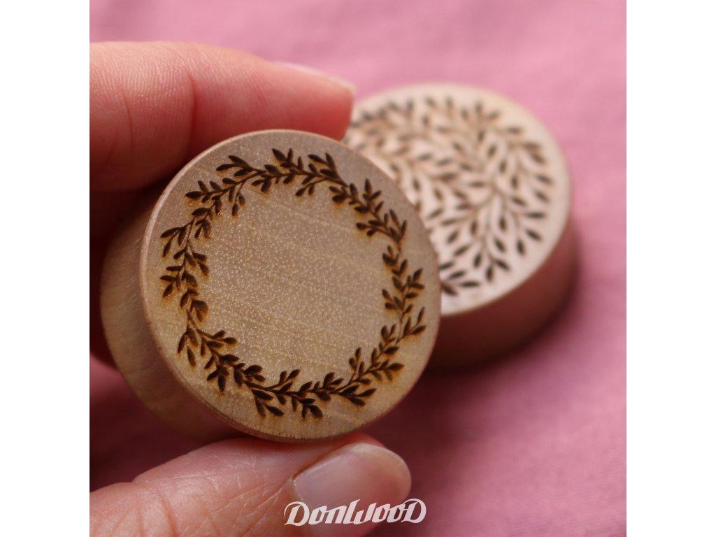 circle plug listy drevené plugy donwood