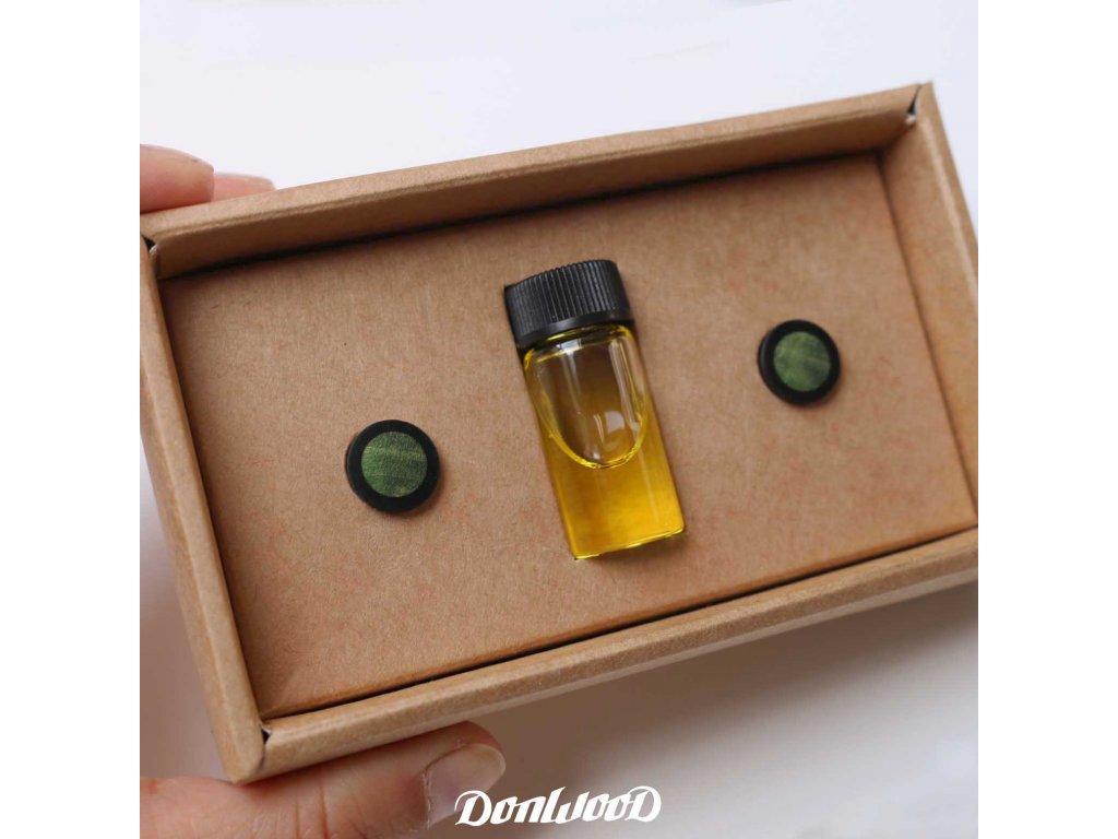 zeleny plug do ucha 10mm