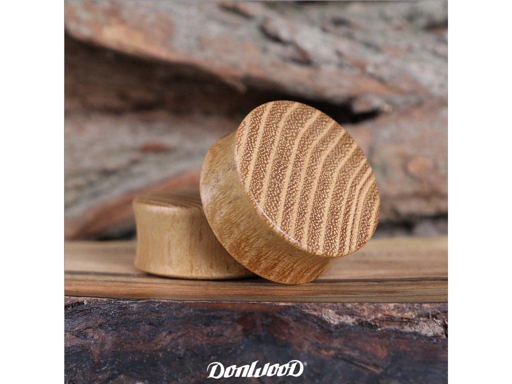dreveny-plug-donwood-akat-zluty-pruhovany