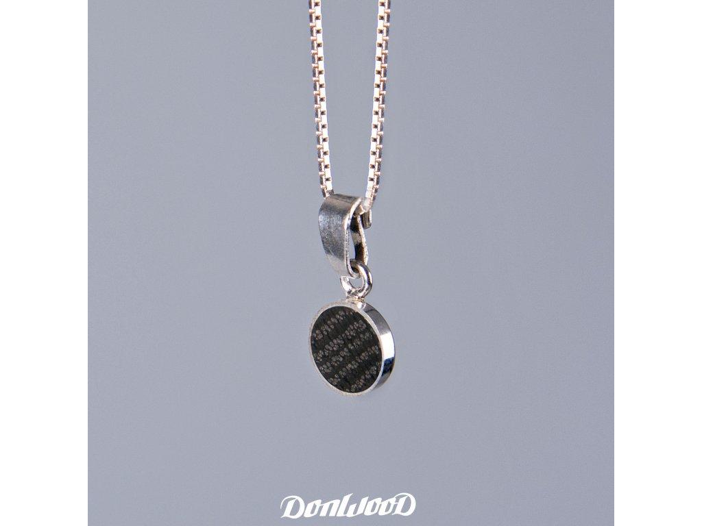 Donwood řetízek dub bahenní stříbro