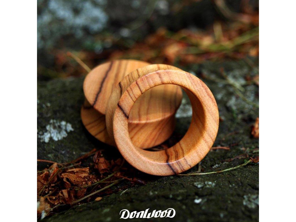 tunel-ze-dreva-donwood-oliva-svetly-plug