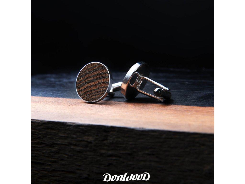 drevene manzetove knoflicky stribro bocote velke bok