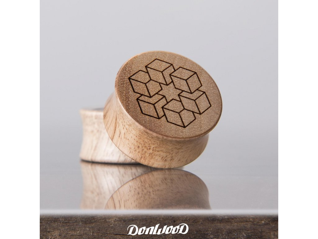 drevo plug handmade krychle donwood pedro