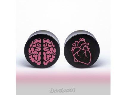 drevo plug hlava versus srdce donwood