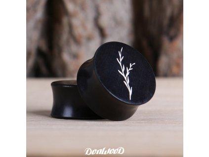 dreveny-plug-cerný-eben-vetvicka-donwood