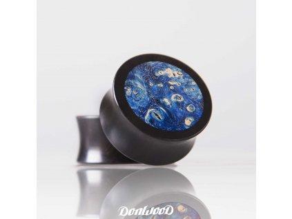 tmave-modry-dreveny-plug-vesmír-donwood