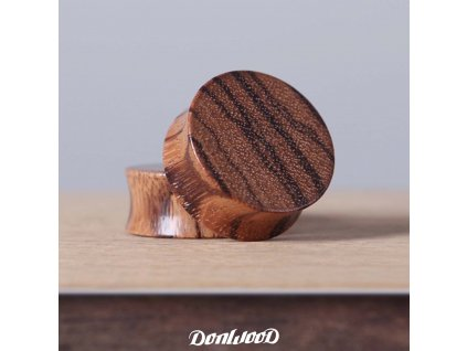 DonWood dreveny plug zebrano02